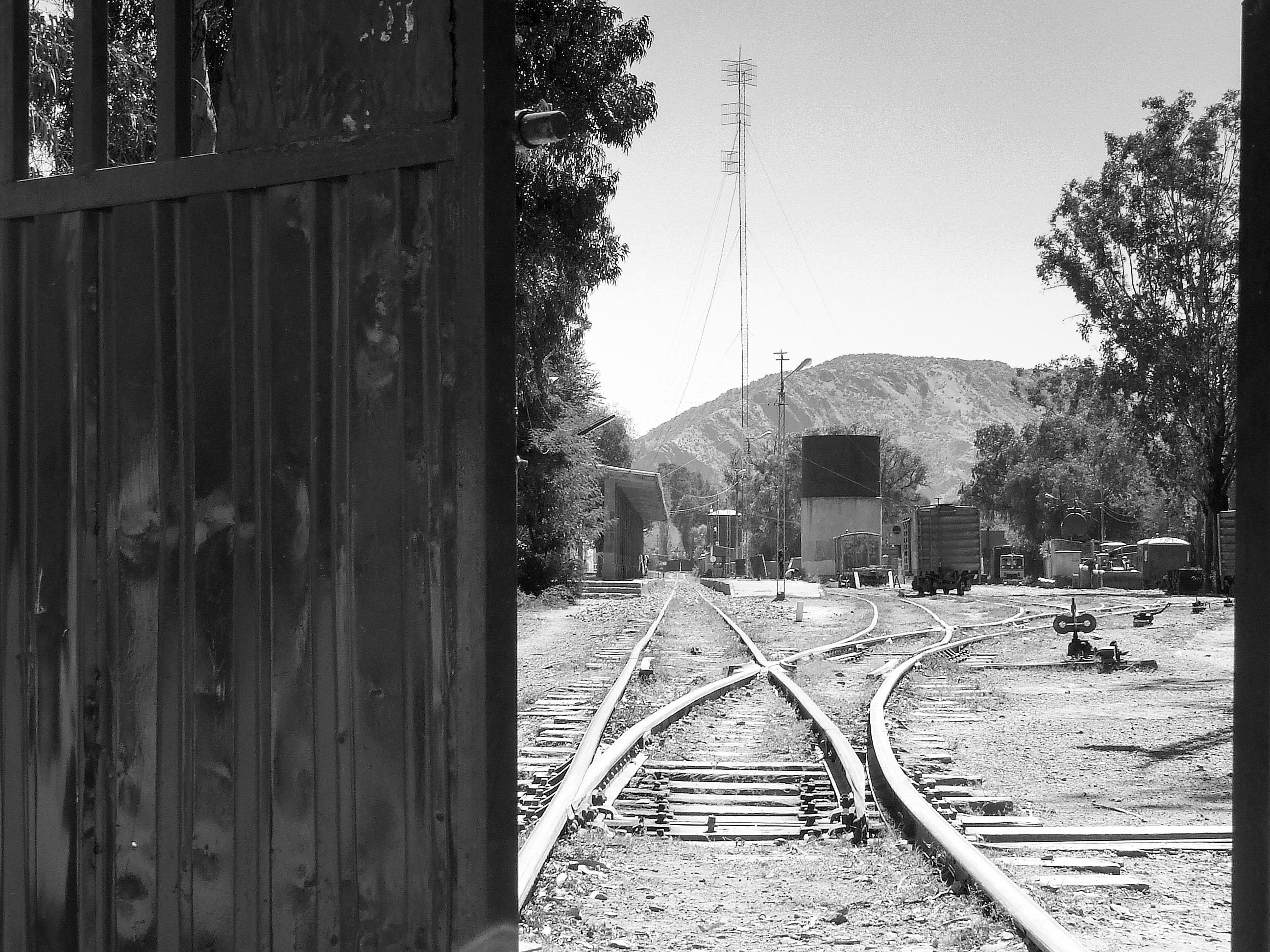 Estación del ferrocarril Tupiza, Potosí, Bolivia