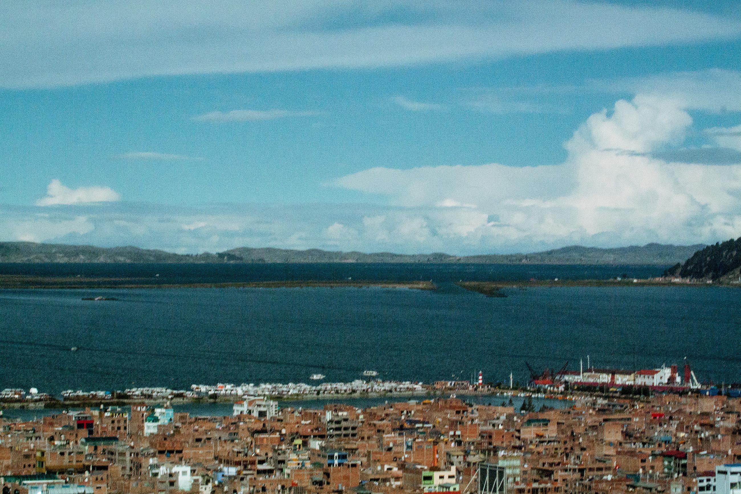 Zona del malecón Lago Titicaca, Puno, Perú