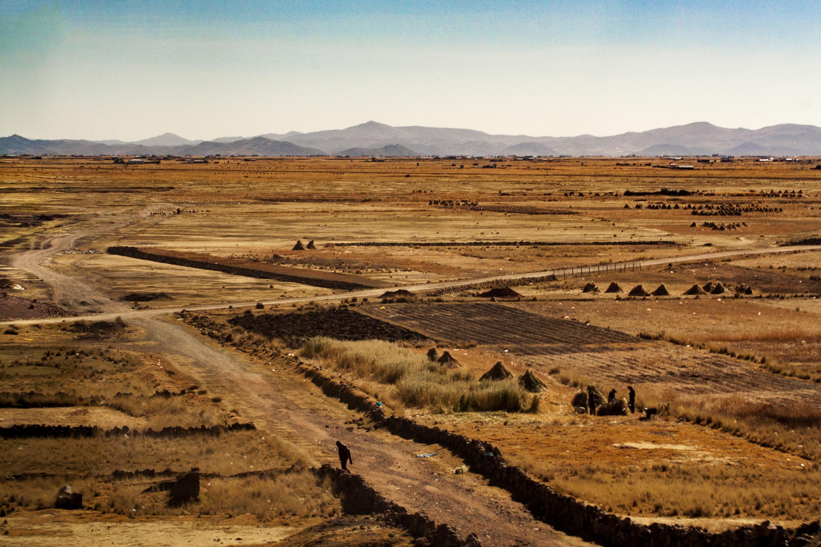 En el camino Carretera de Arequipa a Puno, Perú