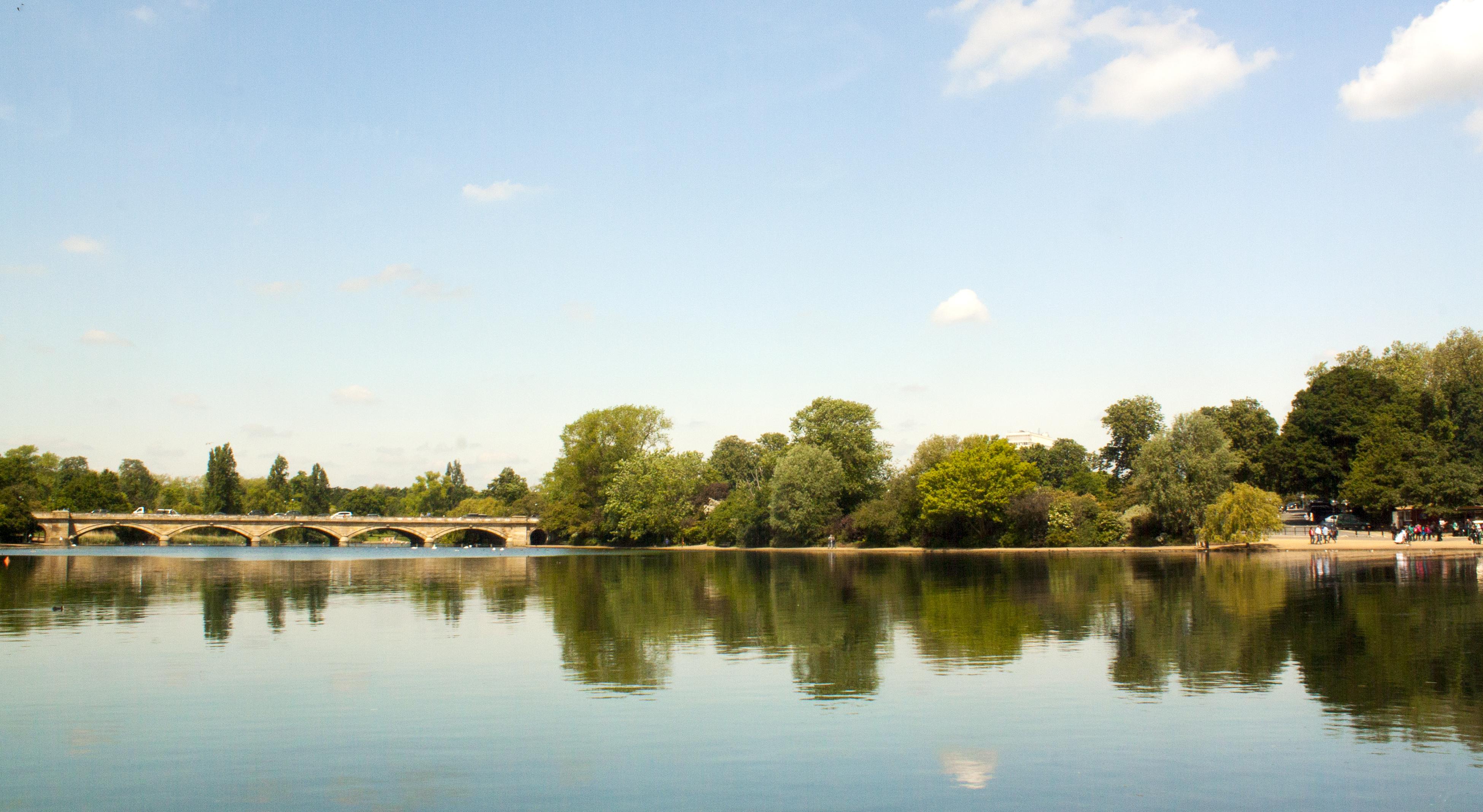 El parque Londres, UK